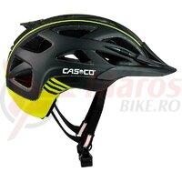 Casca Casco Activ 2 negru/galben neon mat