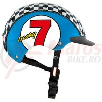 Casca Casco Mini 2 Lucky 7 albastra