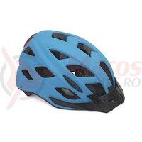 Casca Ciclism AUTHOR  Pulse LED  X8 Albastru Neon
