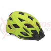 Casca Ciclism AUTHOR  Pulse LED  X8 Galben Neon