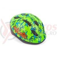 Casca Ciclism AUTHOR Trickie Verde/Albastru