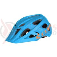 Casca ciclism Cube Am Race Helmet albastru/portocaliu