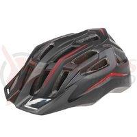 Casca ciclism Mighty Hawk negru rosu 58-62 cm