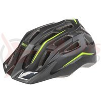 Casca ciclism Mighty Hawk negru/verde 58-62 cm