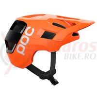 Casca ciclism POC Kortal Race Mips SS 2021 Portocaliu/Negru