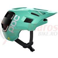 Casca ciclism POC Kortal Race Mips SS 2021 Verde/Negru