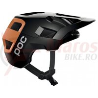 Casca ciclism POC Kortal SS 2021 Negru/Portocaliu