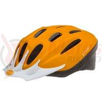 Casca ciclism Ventura orange mat