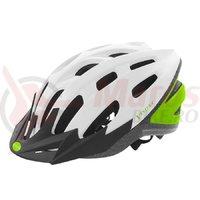 Casca ciclism Ventura Semi-In-Mold alb/verde