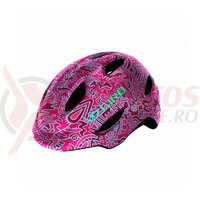 Casca copii Giro Scamp pink flower