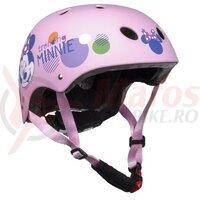 Casca copii Seven Minnie Pink