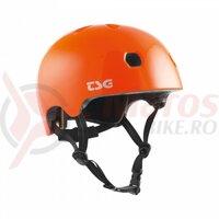 Casca copii TSG Meta Solid Color - Gloss Orange