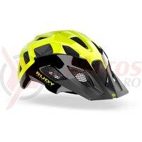 Casca Crossway Black/Yellow Fluo