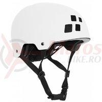 Casca Cube Helmet Dirt alba