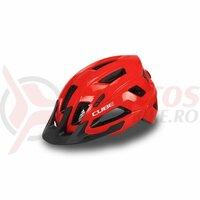 Casca CUBE Helmet Steep Glossy Red