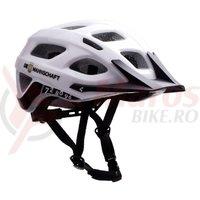 Casca Cube Helmet Tour DFB alb/negru/auriu