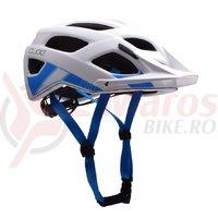 Casca Cube Pro alb/albastru