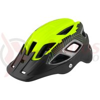 Casca Force Aves MTB E-bike fluo-negru mat