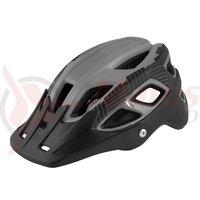 Casca Force Aves MTB E-bike gri-negru mat