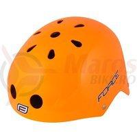 Casca Force BMX portocaliu lucios