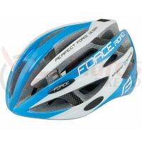 Casca Force Road albastru/alb