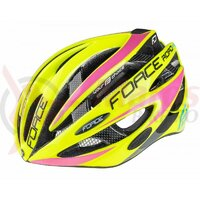 Casca Force Road Pro, fluo/roz