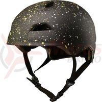 Casca Fox Flight Splatter Helmet blk/gld