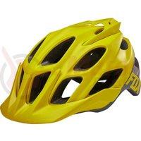 Casca Fox Flux Creo Helmet drk ylw