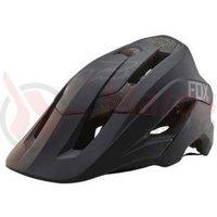 Casca Fox Metah Solids helmet mt blk
