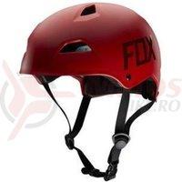 Casca Fox MTB-Helmet Flight Hardshell Helmet matt red