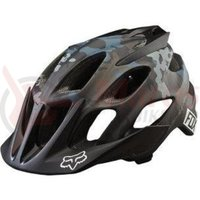 Casca Fox Mtb-Helmet Flux Camo helmet black camo