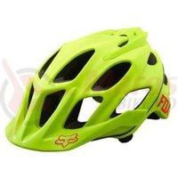 Casca Fox Mtb-Helmet Flux Optik helmet flo yellow