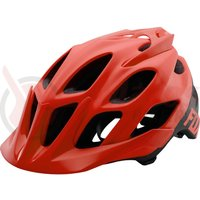 Casca Fox MTB-Helmet Flux Solid Colors Matt red