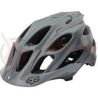 Casca Fox Mtb-Helmet Flux Solids Helmet grey