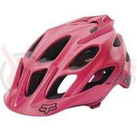 Casca Fox Mtb-Helmet Flux Solids helmet pink