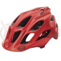 Casca Fox Mtb-Helmet Flux Solids helmet red