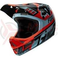 Casca Fox MTB-Helmet Rampage Pro Carbon helmet aqua