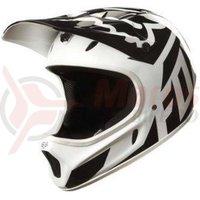 Casca Fox Mtb-Helmet Rampage Race helmet white/black