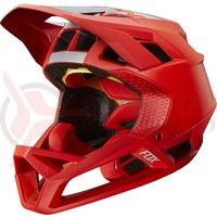 Casca Fox Proframe Helmet Wide Open brt red