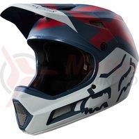 Casca Fox Rampage Comp Preme helmet blu/red