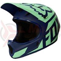 Casca Fox Rampage Race Helmet nvy/lt blu