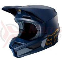 Casca Fox V1 Navy/Gold SE helmet nvy/gld