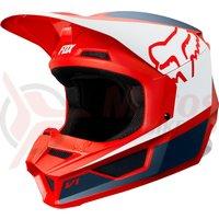 Casca Fox V1 Przm helmet nvy/red