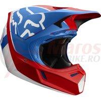 Casca Fox V3 Kila Helmet ece blu/red