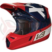Casca Fox V3 Preest Helmet ECE navy/red