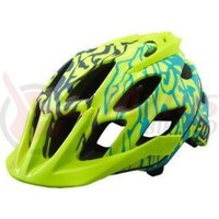 Casca Fox Womens Flux Helmet Miami green