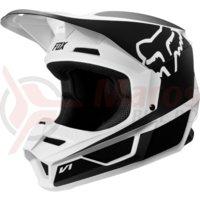 Casca Fox Yth V1 Przm Helmet blk/wht