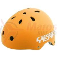 Casca Freestyle/BMX/Outdoor Yeah! orange mat