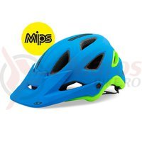 Casca Giro Montaro Mips albastru mat/lime 2016