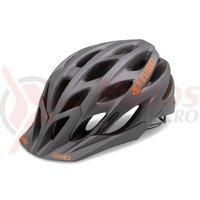 Casca Giro Phase titan mat/orange 2016